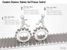 Complete Business Solution And Process Control Ppt Graphics Icons