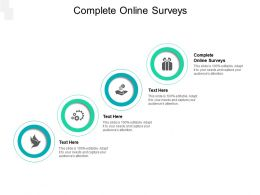 Complete Online Surveys Ppt Powerpoint Presentation Outline Examples Cpb