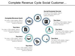 Complete Revenue Cycle Social Customer Service Engagement Performance Cpb