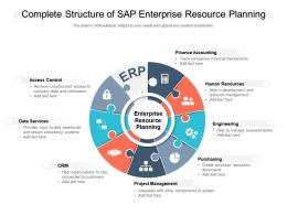Complete Structure Of SAP Enterprise Resource Planning