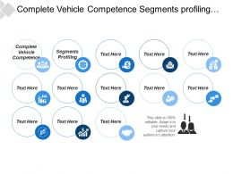 Complete Vehicle Competence Segments Profiling Segments Metrics Corporate Goals
