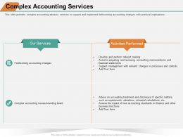 Complex Accounting Services Support Ppt Powerpoint Presentation Infographic Portrait