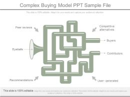 Complex Buying Model Ppt Sample File