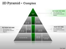 Complex Design 2D Pyramid