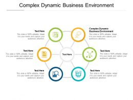 Complex Dynamic Business Environment Ppt Powerpoint Presentation Model Cpb