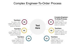 Complex Engineer To Order Process Ppt Powerpoint Presentation Pictures Background Image Cpb