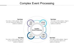 Complex Event Processing Ppt Powerpoint Presentation Inspiration Ideas Cpb
