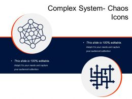 Complex System Chaos Icons
