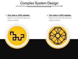 Complex System Design