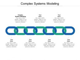 Complex Systems Modeling Ppt Powerpoint Presentation Pictures Structure Cpb