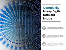 Complexity Binary Digits Network Image