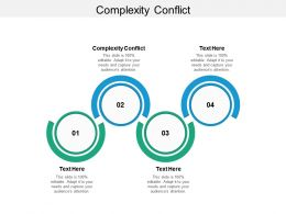 Complexity Conflict Ppt Powerpoint Presentation Portfolio Show Cpb