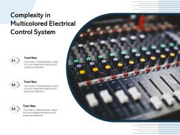 Complexity In Multicolored Electrical Control System