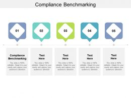 Compliance Benchmarking Ppt Powerpoint Presentation Inspiration Graphics Cpb