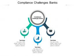 Compliance Challenges Banks Ppt Powerpoint Presentation File Display Cpb
