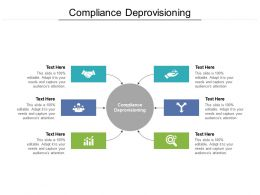 Compliance Deprovisioning Ppt Powerpoint Presentation Styles Background Cpb
