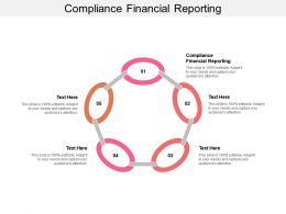 Compliance Financial Reporting Ppt Powerpoint Presentation Gallery Aids Cpb