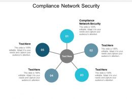 Compliance Network Security Ppt Powerpoint Presentation Summary Display Cpb
