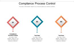 Compliance Process Control Ppt Powerpoint Presentation Pictures Layout Cpb