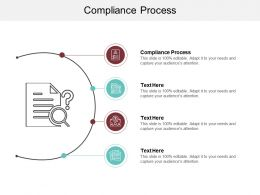 Compliance Process Ppt Powerpoint Presentation Model Example Cpb
