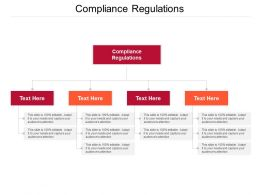 Compliance Regulations Ppt Powerpoint Presentation Styles Cpb