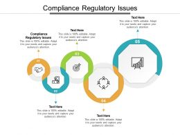 Compliance Regulatory Issues Ppt Powerpoint Presentation Summary Example Topics Cpb