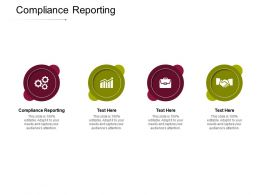 Compliance Reporting Ppt Powerpoint Presentation Ideas Brochure Cpb