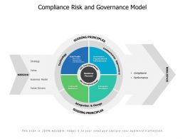 Compliance Risk And Governance Model