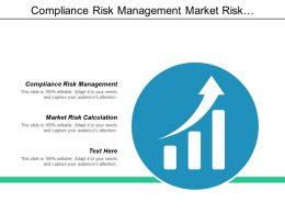 Compliance Risk Management Market Risk Calculation Market Risk Management Cpb