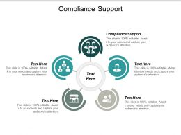 Compliance Support Ppt Powerpoint Presentation Outline Show Cpb