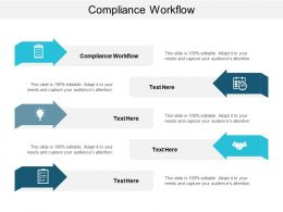 Compliance Workflow Ppt Powerpoint Presentation Inspiration Tips Cpb