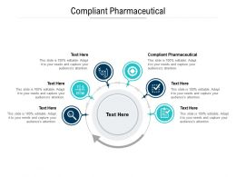 Compliant Pharmaceutical Ppt Powerpoint Presentation Inspiration Picture Cpb