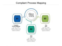Compliant Process Mapping Ppt Powerpoint Presentation Infographics Samples Cpb