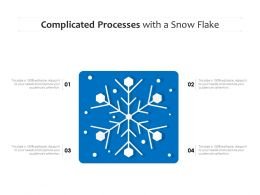 Complicated Processes With A Snow Flake