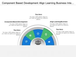 Component Based Development Align Learning Business Interactive Development