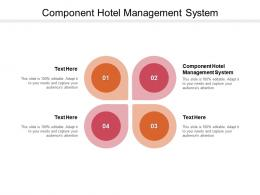 Component Hotel Management System Ppt Powerpoint Presentation Layouts Picture Cpb