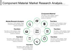Component Material Market Research Analysis Marketing Strategy Creative Design
