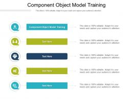 Component Object Model Training Ppt Powerpoint Presentation File Visual Aids Cpb