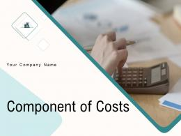 Component Of Costs Powerpoint Presentation Slides