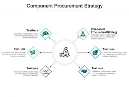 Component Procurement Strategy Ppt Powerpoint Presentation Icon Cpb