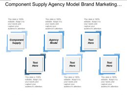 Component Supply Agency Model Brand Marketing Leadership Strategic Management Cpb