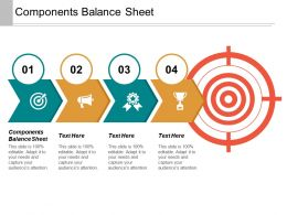 Components Balance Sheet Ppt Powerpoint Presentation Inspiration Infographic Template Cpb