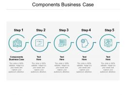 Components Business Case Ppt Powerpoint Presentation Show Aids Cpb