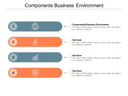 Components Business Environment Ppt Powerpoint Presentation Infographic Gallery Cpb