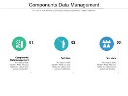 Components Data Management Ppt Powerpoint Presentation Layouts Slide Portrait Cpb