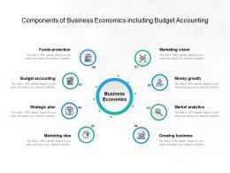 Components Of Business Economics Including Budget Accounting