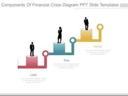 Components Of Financial Crisis Diagram Ppt Slide Templates
