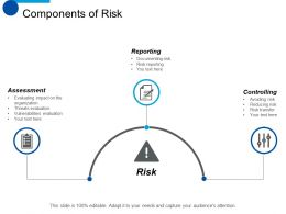 components_of_risk_reporting_ppt_summary_designs_download_Slide01