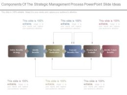 Components Of The Strategic Management Process Powerpoint Slide Ideas