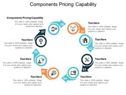 Components Pricing Capability Ppt Powerpoint Presentation Pictures Graphics Cpb